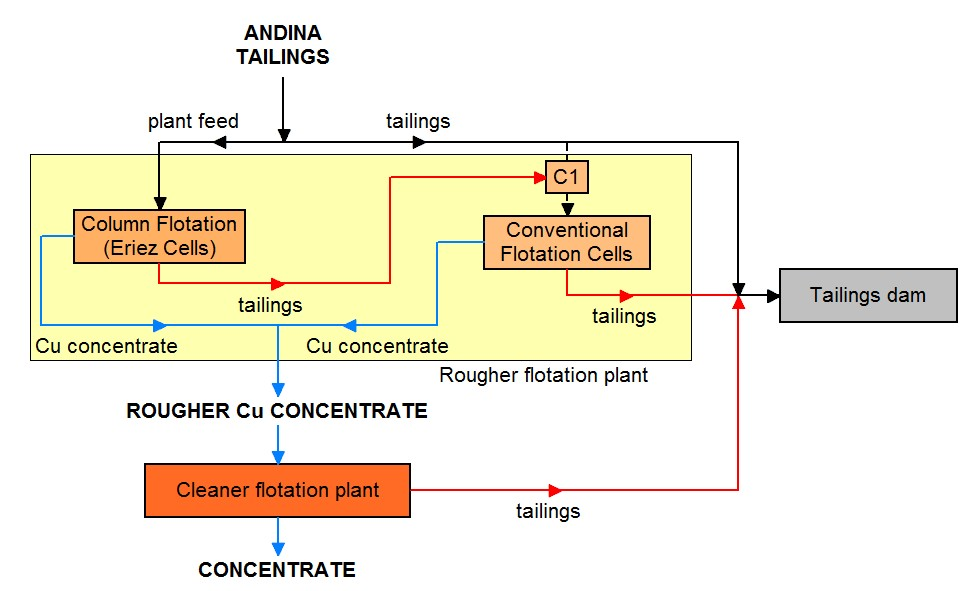 Monitoring And Optimization Of A Mineral Processing Plant To Recover Copper And Molybdenum From